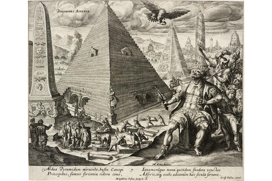 Grabado pirámide