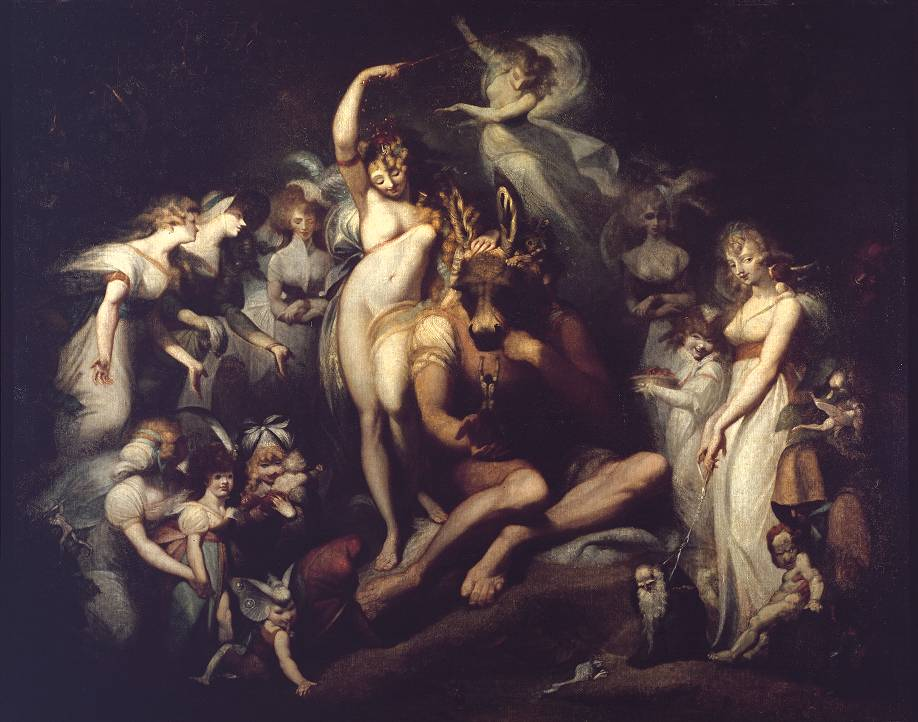 Titania and Bottom circa 1790 Henry Fuseli 1741-1825 Presented by Miss Julia Carrick Moore in accordance with the wishes of her sister 1887 http://www.tate.org.uk/art/work/N01228