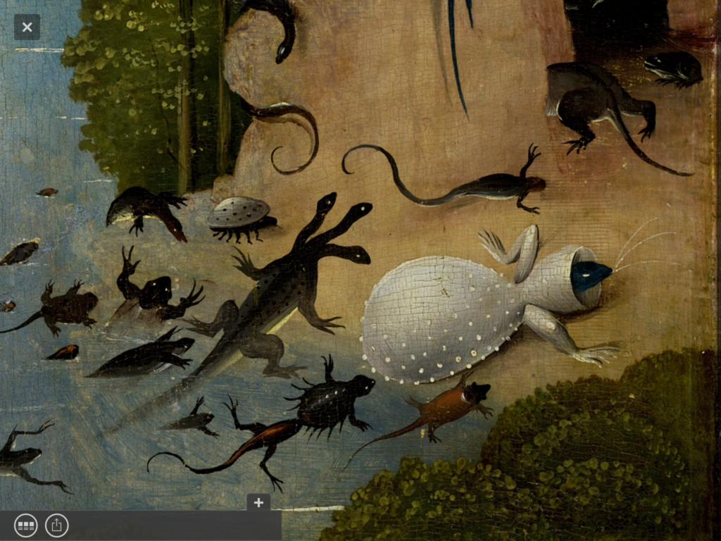 """""""El jardín de las delicias"""" de El Bosco en la APP Second Canvas del Museo del Prado"""