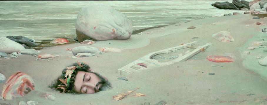 Gustave Courtois, Orfeo, 1875, (Pontarlier, Collection Musee municipal © Mondadori Portfolio / AKG Images)