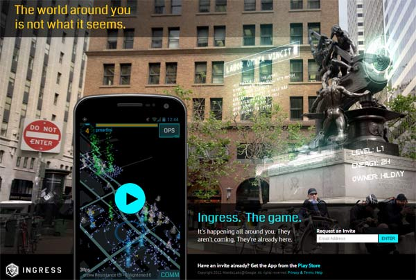 Ingress The Game