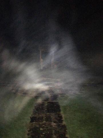 La misteriosa niebla captada por Jason Manford.