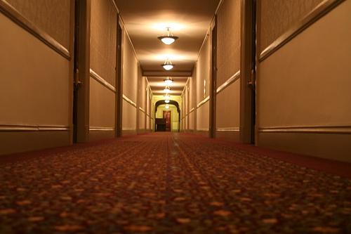 Célebre pasillo del Stanley Hotel. http://www.stanleyhotel.com/