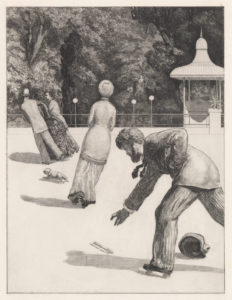 Action (plate two from Paraphrase on the Finding of a Glove)