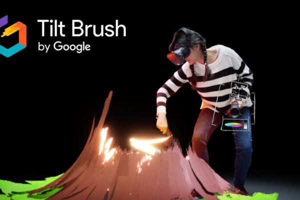 Tilt Brush: arte virtual alucinante