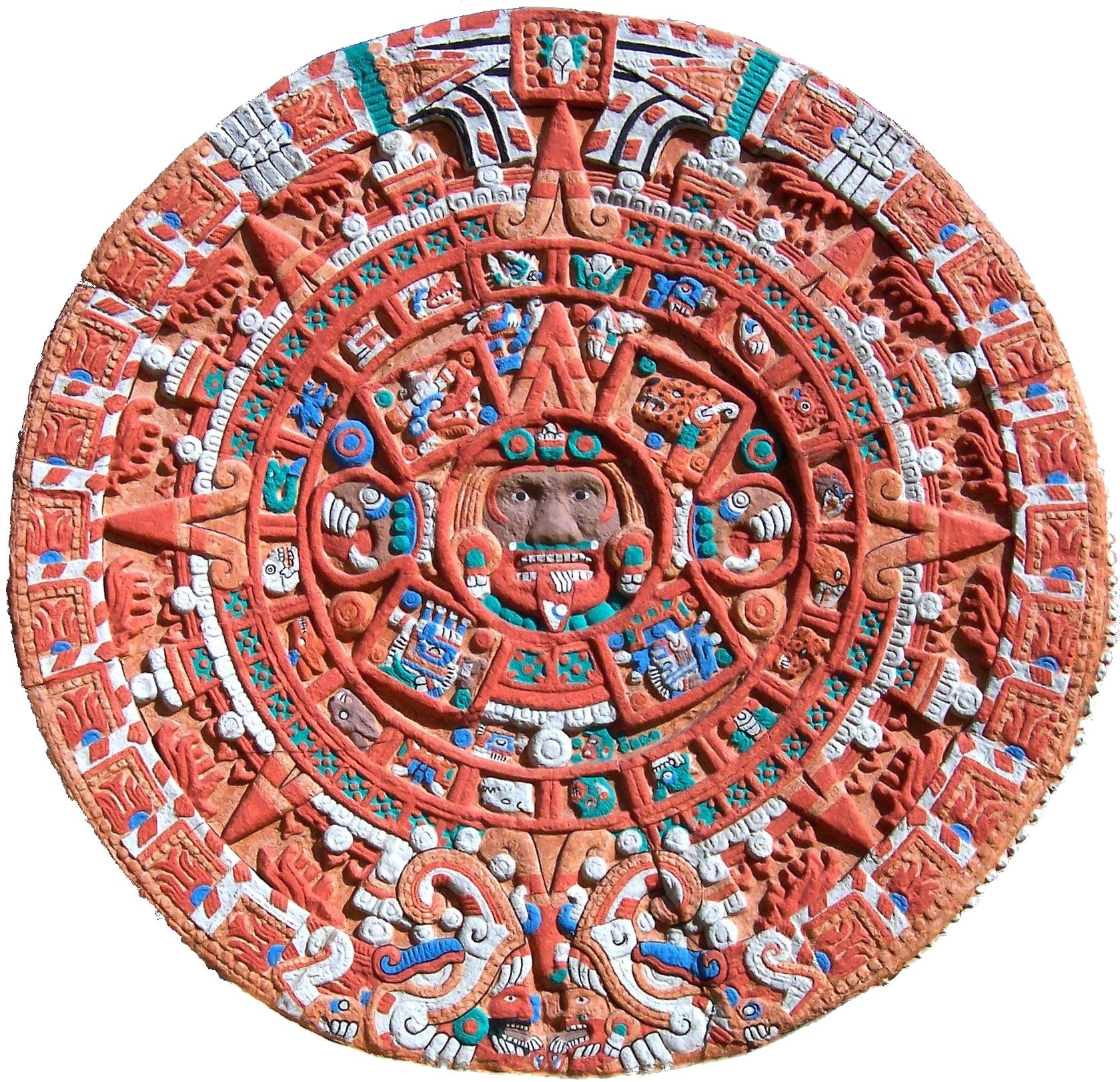 El Calendario olmeca, también llamado maya o mexica