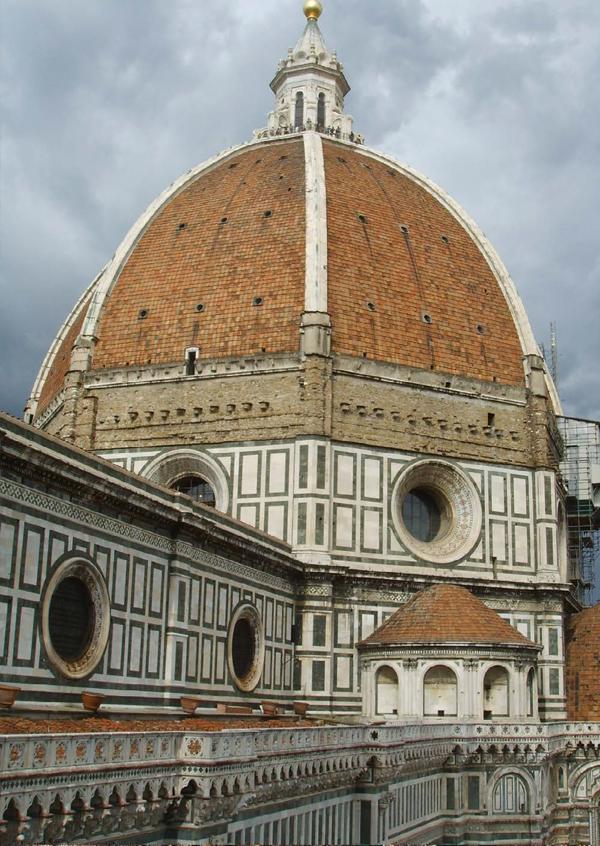 La cúpula de Florencia en Luces en la Oscuridad