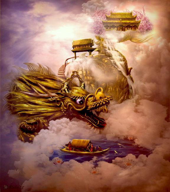 Los Nueve Dragones Chinos Y Su Significado Por Manuel Velasco