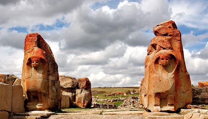 El yacimiento arqueológico de Alaca Höyük