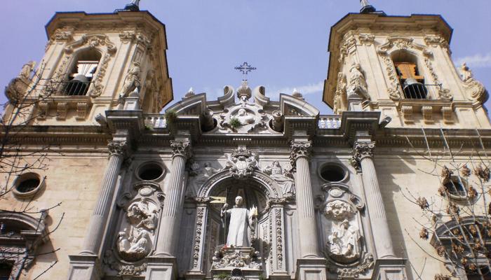 La Basílica de San Juan de Dios