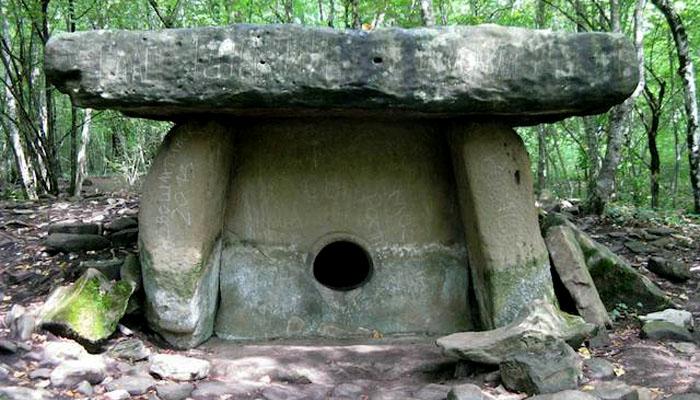 La tumba de Novosvobódnaya