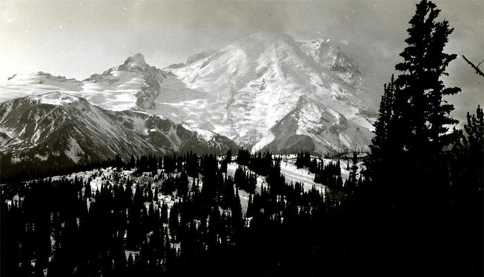 Avistamiento en el monte Rainier