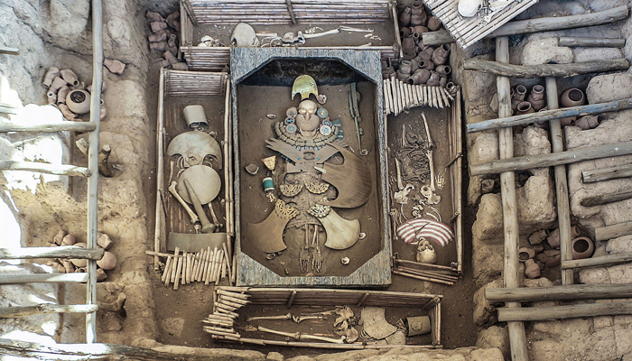 Las Tumbas Reales del Señor de Sipán
