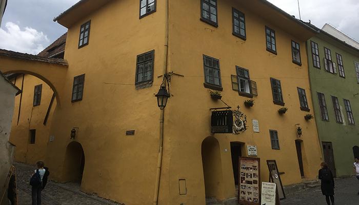 Casa natal de Vlad Tepes