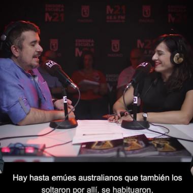 Belén Doblas y Santiago Camacho