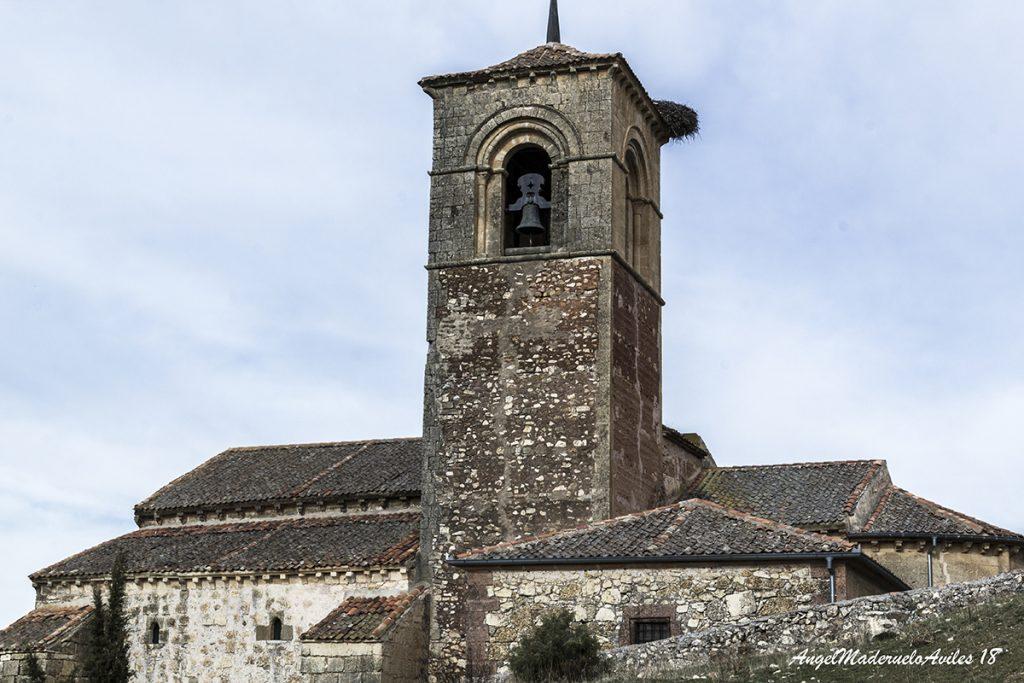Torre de la iglesia de Caballar