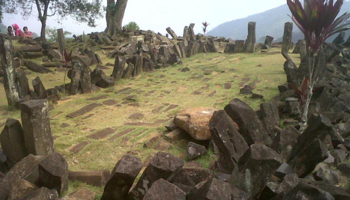 La pirámide del Monte Padang