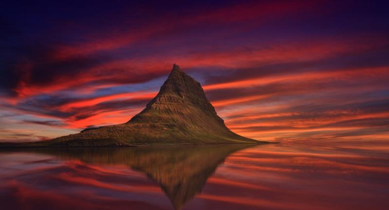 Montaña en Islandia