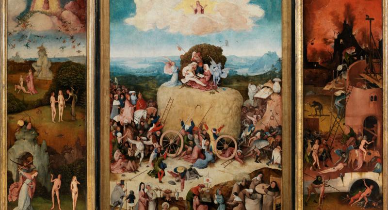 Las tentaciones de san Antonio del Bosco