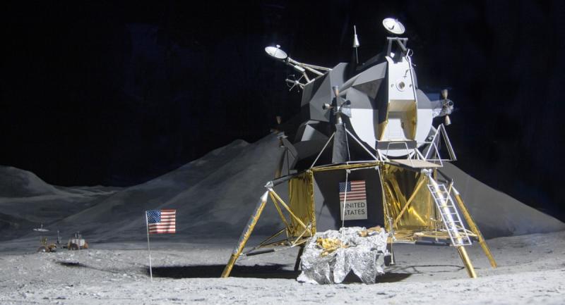 La llegada a la Luna